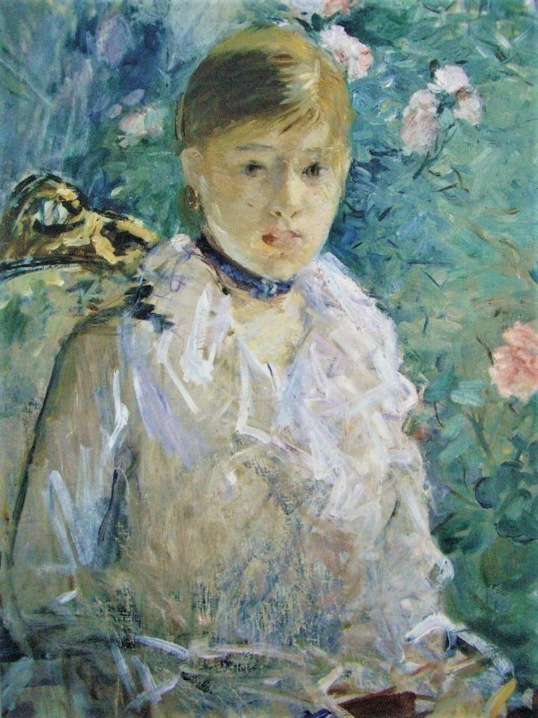 Berthe Morisot, 5IE-1880-113, Été Compare: 1878, CR75, Summer (Young woman by a window), 76x61, MF Montpellier