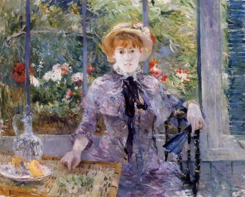 Berthe Morisot, 7IE-1882-92, A la campagne =1881, CR110, After Luncheon, 80x99, A2013/02/06