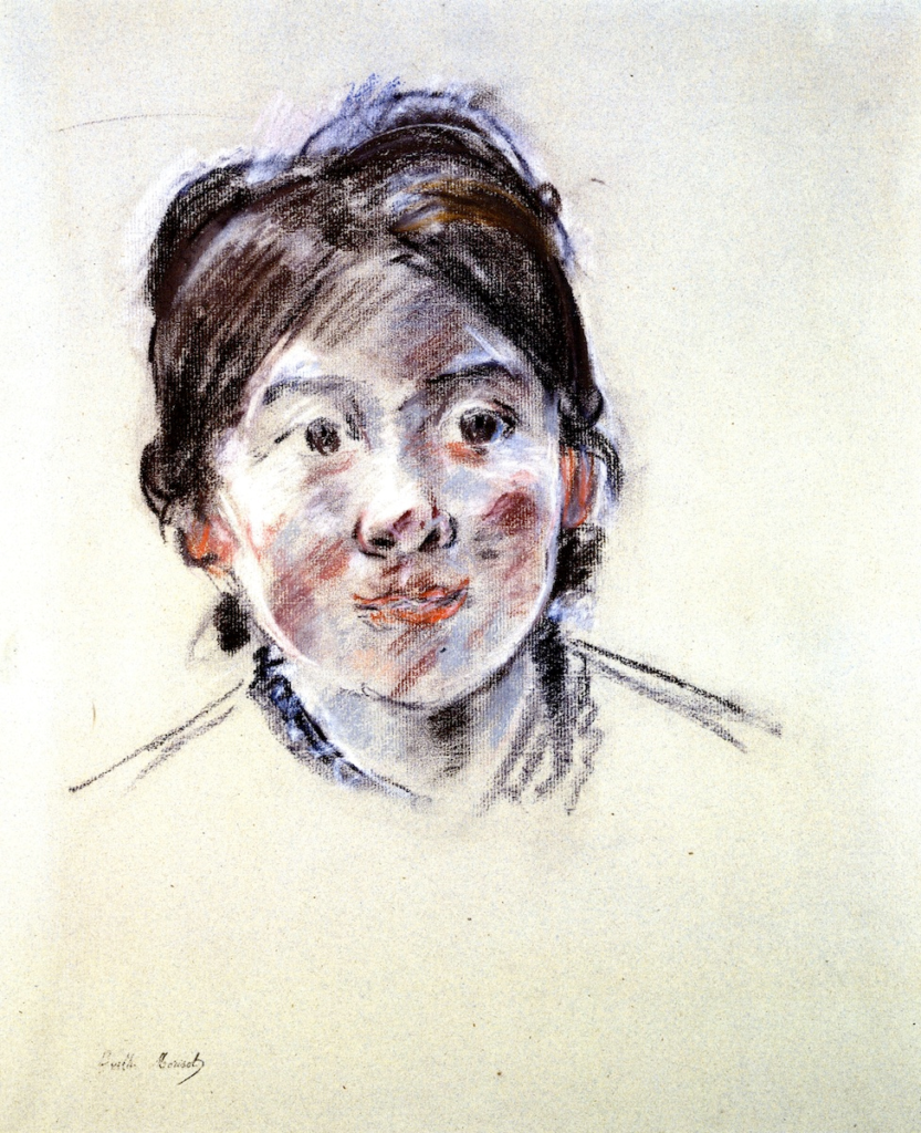 Berthe Morisot, 8IE-1886-90, Portrait de Mlle L. Maybe(?): 1885, CR482, Portrait of Mlle Labillois, pastel, 49x42, A2003/06/26