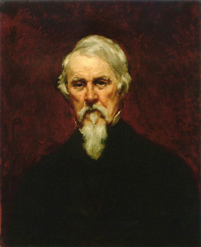 Mary Cassatt, 4IE-1879-46, Portrait de M.C... Probably: 1871, CR49, Portrait of Mr. Robert Simpson Cassatt, 67x56, private (iR64;iR10;iR203;R90II,p108+126;R2,p267;R187,no49)
