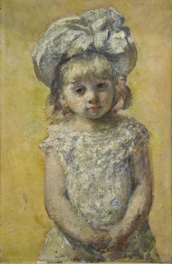 Mary Cassatt, 4IE-1879-47, Portrait de petite fille. Maybe(?): 1880 (or 1879), CR85, Portrait of a girl, 63x41, MBA Bordeaux (iR6;iR92;iR50;R187,no85;R2,p267;R90II,p108).