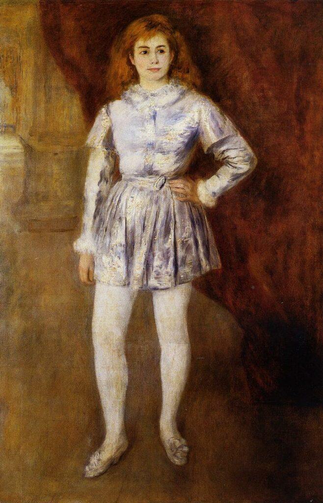 Renoir, 2IE-1876-226, portrait de M. H... (pastel). Compare: 1875ca, Mme Henriot en travesti, 161x104, GFA Columbus or Ohio (iRx;R30,no159)