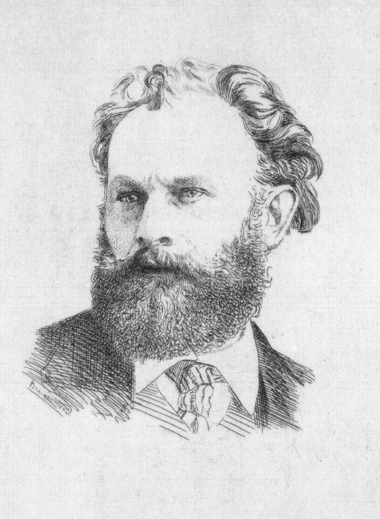 Félix Bracquemond, 1867ca, (Beraldi 75), Portrait de Manet, etch, 16x12, AI Chicago (iR6;iR74)