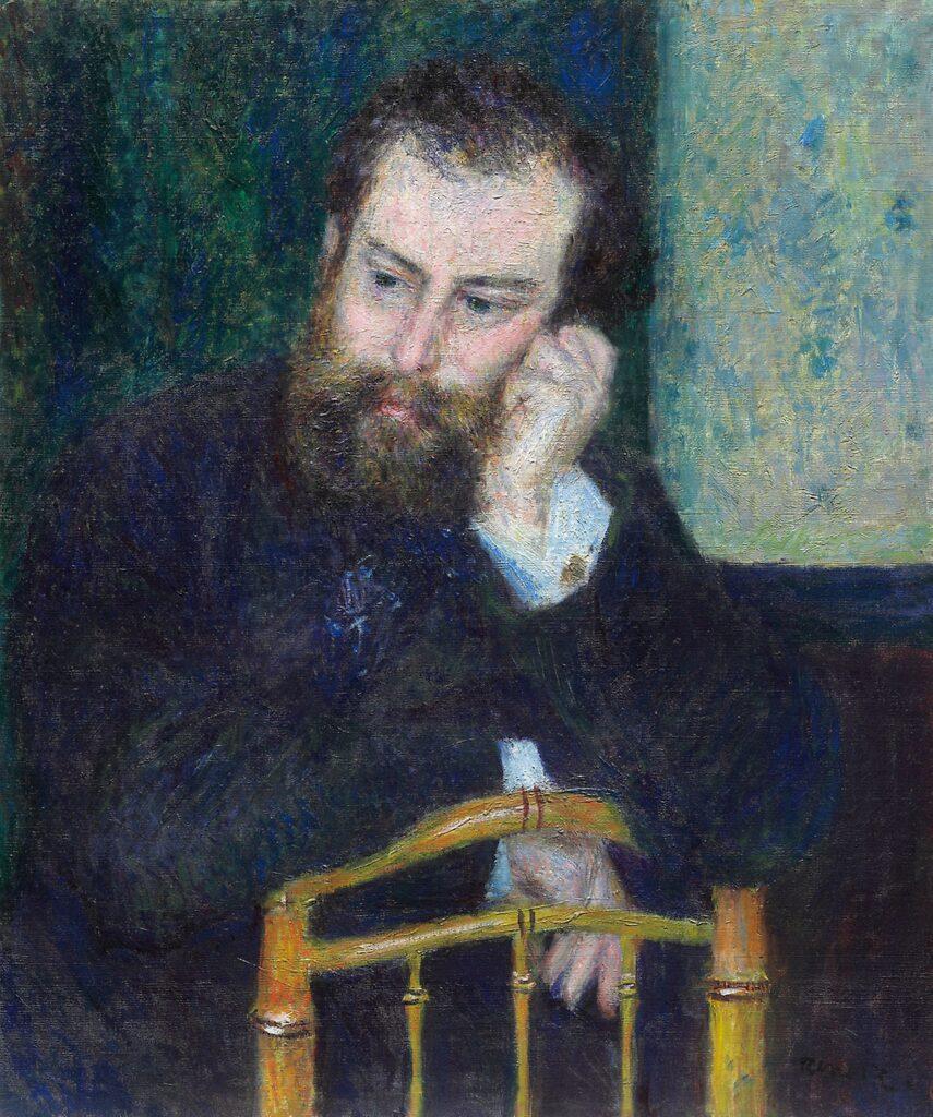 Renoir, 3IE-1877-190, Portrait de M. Sisley =1876 (1874), CR117, Alfred Sisley, 66x55, AI Chicago (iR10;iR74;R90II,p101;R30,no138)