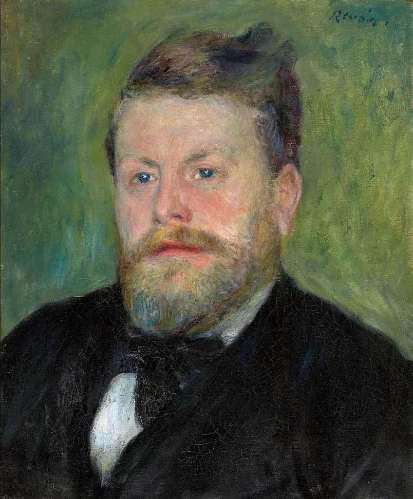 Renoir, 3IE-1877-192, Portrait de M. S... =1875-77, (1871-77), CR71, Jacques-Eugène Spuller, 46x38 (or98x46), A2011/06/22 (iR11;R90II,p101;R30,no201)