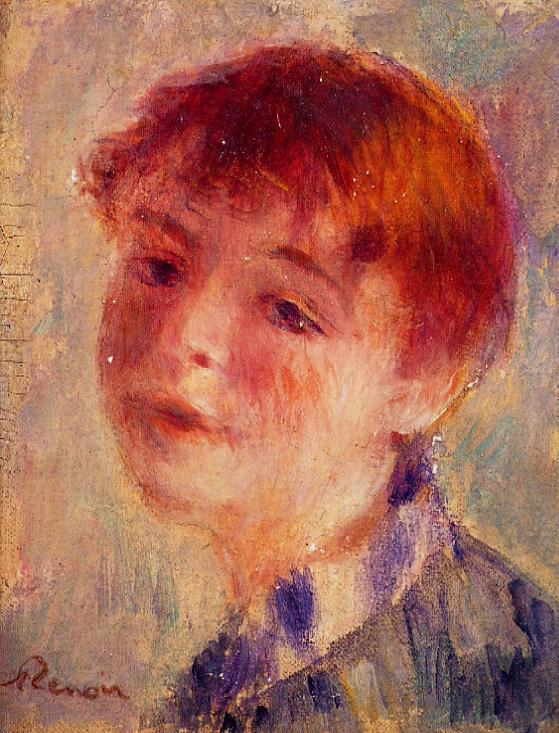 Renoir, 3IE-1877-200, Tête de jeune fille. Maybe???: 1876, Margot, xx, private (iRx)