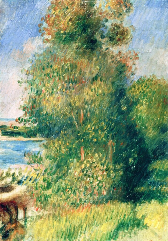 Renoir, 7IE-1882-150, Au bord de la Seine. Maybe??: 1880ca, Landscape, Banks of the River, 35x25, A2008/06/27 (iRx;iR11)