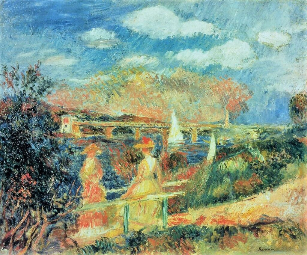 Renoir, 7IE-1882-152, Les bords de la Seine. Maybe??: 1880, The Banks of the Seine at Argenteuil, xx, private (iRx;iR10;iR229)