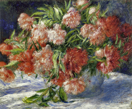 Renoir, 7IE-1882-158, Pivoines Probably: 1880ca, Peonies, 55x65, CAI Williamstown (iR59;R90II,p232)