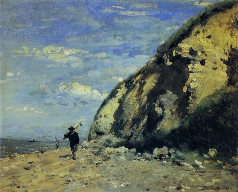 Adolphe-Félix Cals, 1874, Pêcheur (Honfleur), 25x31, MEB Honfleur or Orsay (iR2;iR35;R3,p125)
