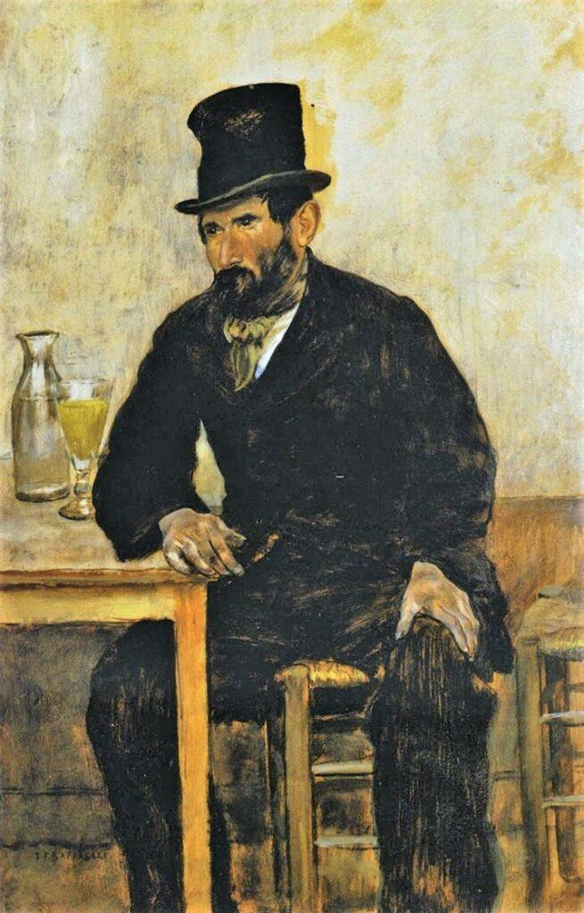 Jean-François Raffaëlli, 6IE-1881-118, Déclassé. Compare: 1880, The Absinth Drinker, 50x32, MAMC Liège (iR2;R2,p355;R90II,p186)