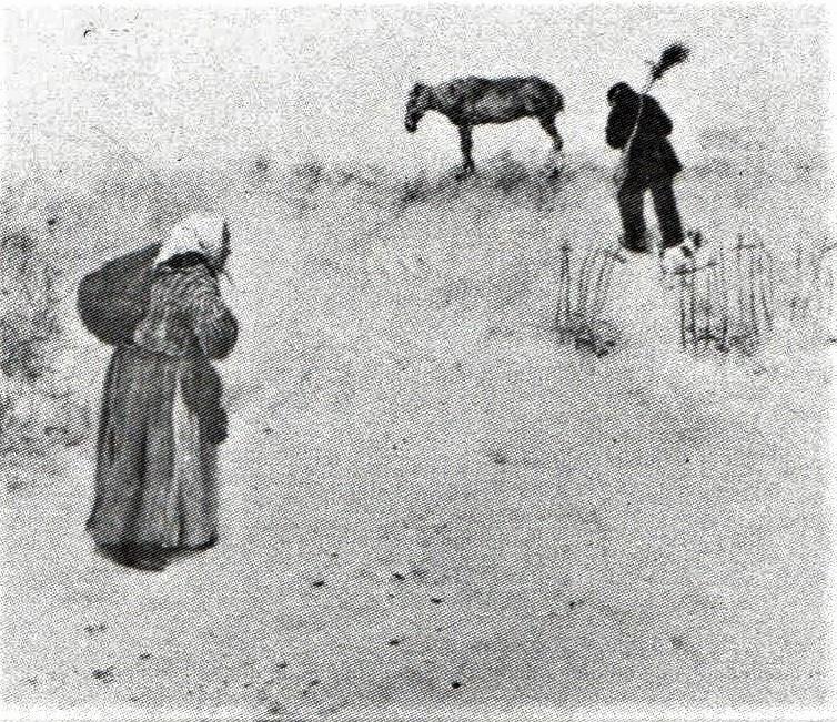 Jean-François Raffaëlli, 6IE-1881-95, Terrains vagues =1880, wasteland, oil, 22x27, A1988/05/24 (R90II,p196;iR14;R2,p355)