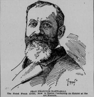 Norman, 1895-05-09, Portrait of Jean Francois Raffaell, dr, xx, Boston Post (iR6)