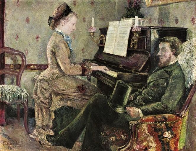 Frédéric-Samuel Cordey, 1877, A captive audience, 114x147, A2008/10/01 (iR11;iR4;iR15;iR10;iR17;iR22;iR251;iR260)