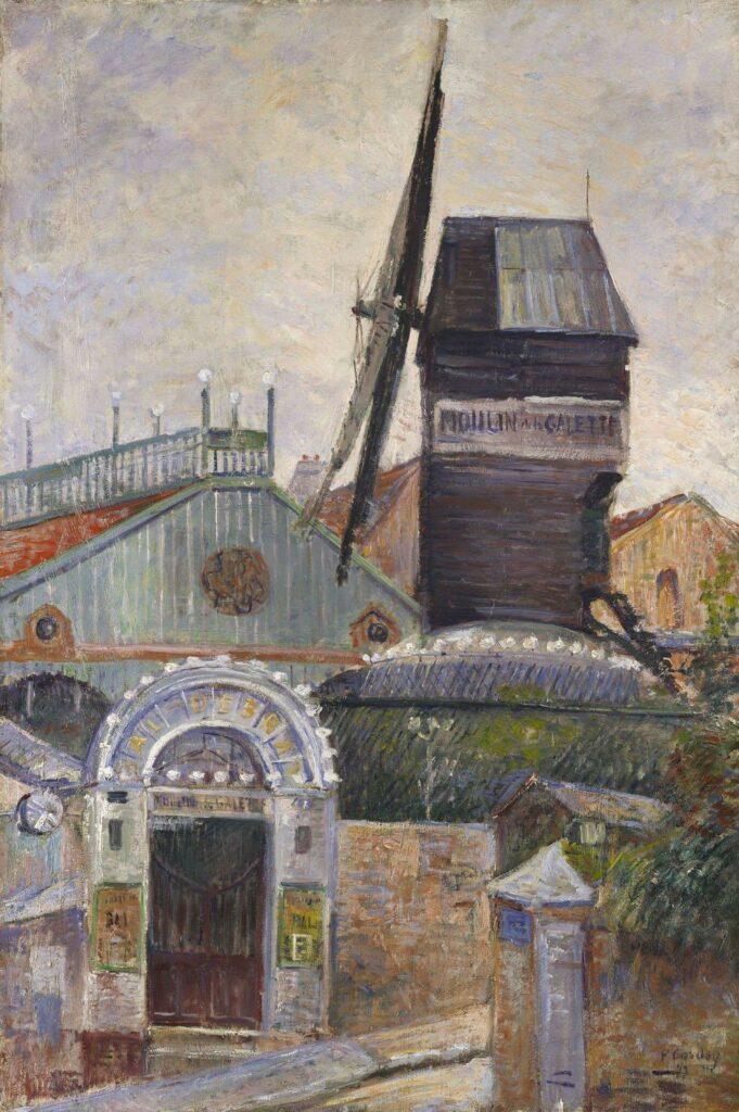Frédéric-Samuel Cordey, 1877ca, Moulin-de-le-Galette, xx, Axx (iR10;iR249;R88I,p149)