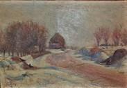 Frédéric-Samuel Cordey, 1895, Les corbeaux sous la neige (Crows in the snow), xx, A2014/04/24 (iR13;iR10;iR64)
