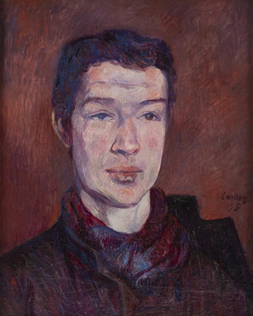 Frédéric-Samuel Cordey, 1895, Portrait of a man, 46x55, xx (iR254;iR10;iR100)