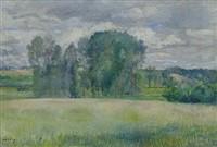 Frédéric-Samuel Cordey, 18xx, Cornfield at the edge of the forest, xx, A2012/11/03 (iR13)