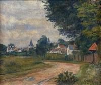 Frédéric-Samuel Cordey, 18xx, L'entrée du village (The entrance of the village), xx, A2016/05/11 (iR10;iR13)