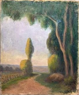 Frédéric-Samuel Cordey, 18xx, xx (a landscape with a road), xx, xx (iR10;iR11)