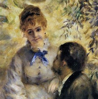 August Renoir, 1875ca, CR127, The Lovers (les amoureux) (detail with Franc-Lamy), 175x130, NG Prague (iR2;R31,p207;R108,no127;R30,no165;M140)