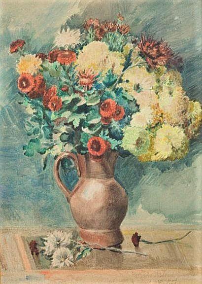 Zacharie Astruc, 18xx, Vase de fleurs, xx, A2009/10/27 (iR10;iR17)