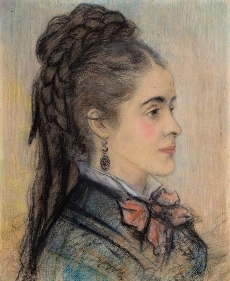 August Renoir, 1IE-1874-146, Croquis (pastel). Maybe??: 1868-70, Portrait d'une jeune femme, pastel, 44x36, A2012/05/15 (iR11;R2,p122)