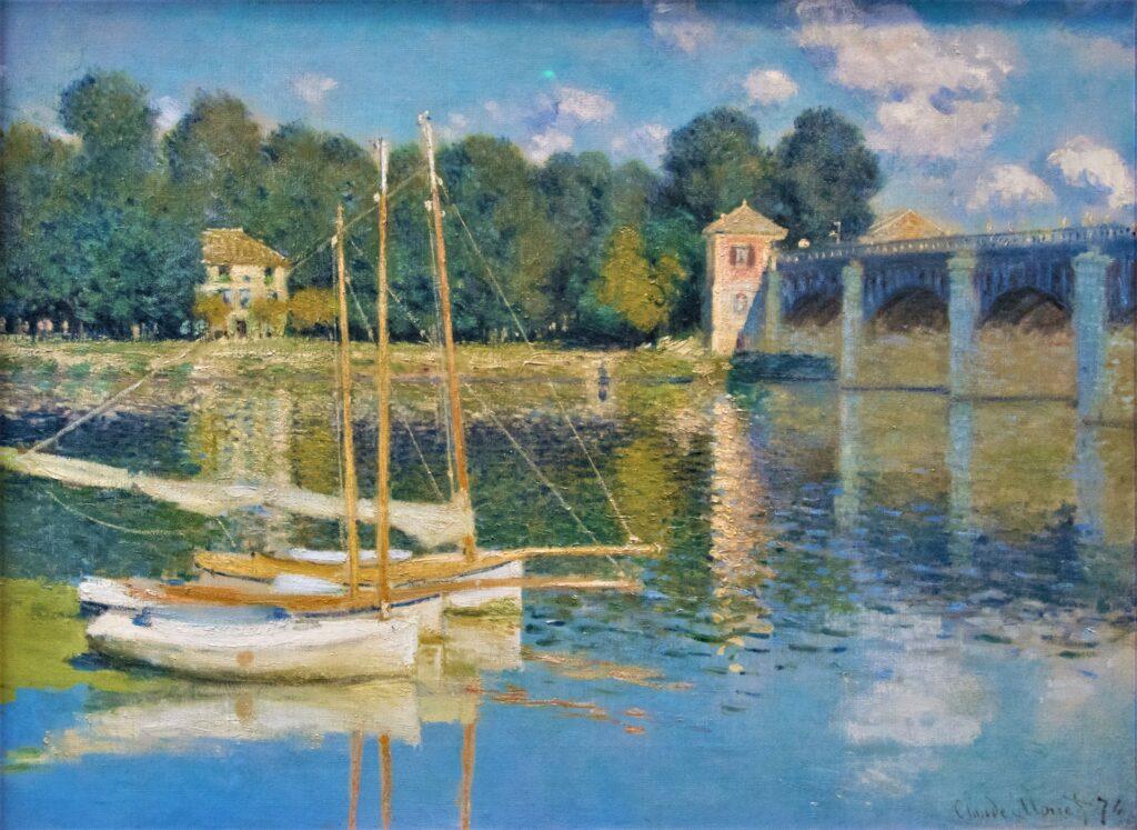Claude Monet, 2IE-1876-156, Le Pont d'Argenteuil (app. à M. Faure) = CR311, 1874, The Bridge at Argenteuil, 60x80, Orsay (iR2;R2,p152;R90II,p57;R22+R127,CR311;M1,RF1937-41) = XX1886-5.