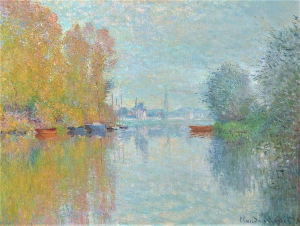 Claude Monet, 2IE-1876-158, Effet d'automne. Probably: 1873, CR291, Autumn on the Seine at Argenteuil, 54x73, HMA Atlanta (M150,no.2000.205;R2,p162;R90II,p57;R22+R127,CR291)