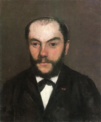 Gustave Caillebotte, 4IE-1879-17, Portrait de M. D... Probably: 1877, CR106+122, Portrait d'homme (Édouard Dessommes), 49x38, A1980/11/21 (aR8;iR10;R102,no106;R2,p266;R90II,p106)