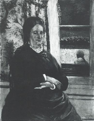 Gustave Caillebotte, 4IE-1879-20, Portrait de Mme C... =1878, CR85+112, Portrait de Mme Charles Caillebotte, 92x74, private (iR10;aR8;R90II,p123;R102,no112+p282;R101,no85)