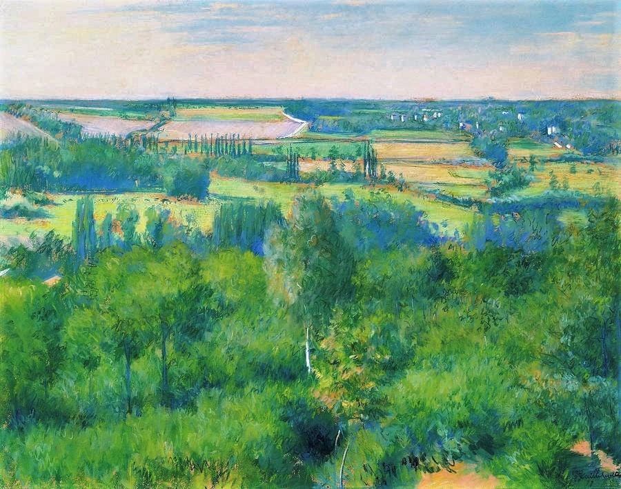 Gustave Caillebotte, 4IE-1879-28, Vallée de l'Yerres (pastel). Now: 1877, CR99+92, La Vallée de l'Yerres, pastel, 57x71, A2012/05/02 (iR10;iR74;iR11;R2,p267;R90II,p107+125;R101,no99;R102,no92+p283)