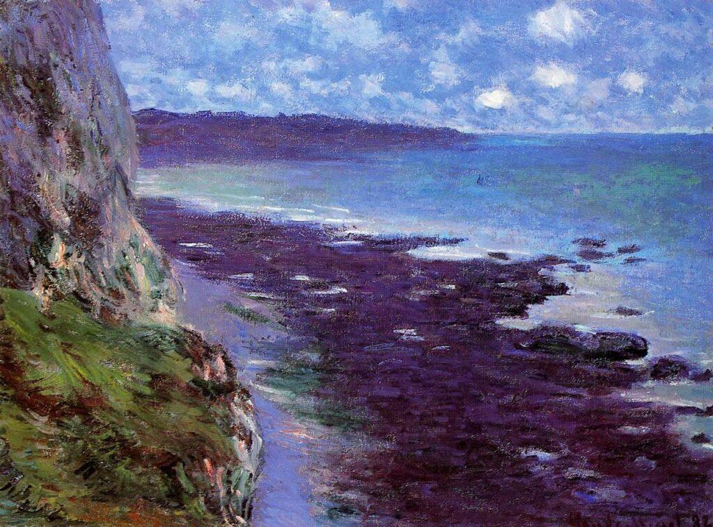Claude Monet, 7IE-1882-74, Marine. Very uncertain: 1882, CR708, Falaise près de Dieppe, 59x79, private (iR51;iR142;R22,no708;R2,p395)