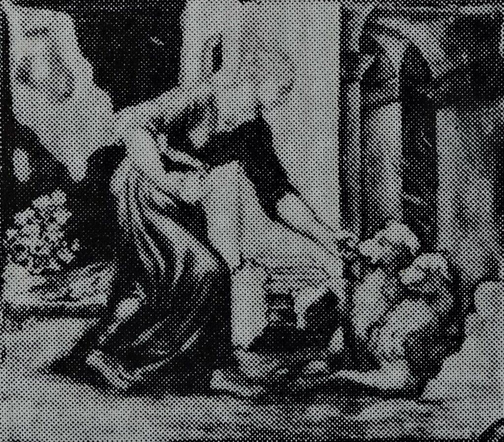 Alfred Meyer, 1IE-1874-90, Figure d'après Raphaël, émail. Maybe??: 1868ca, L'Histoire de Psychè 1 (after Raphaël), enamel + gold, xx, MNd Sèvres (R87,p241;aR10) =!? S1869-2966