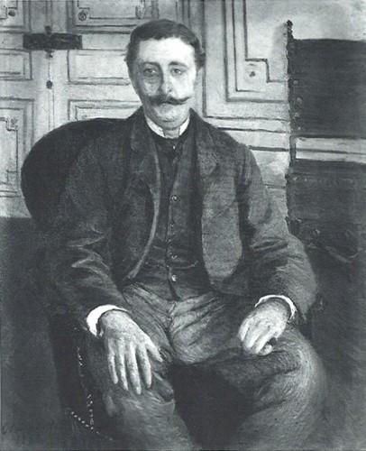 Gustave Caillebotte, 7IE-1882-6, Portrait de M. F. =1881, CR169+181, Portrait de Jules Froyez, 100x82, unknown (iR10;aR8;R90II,p201+215;R90I,p417;R102,no181+p283;R101,no169;R2,p394+387)