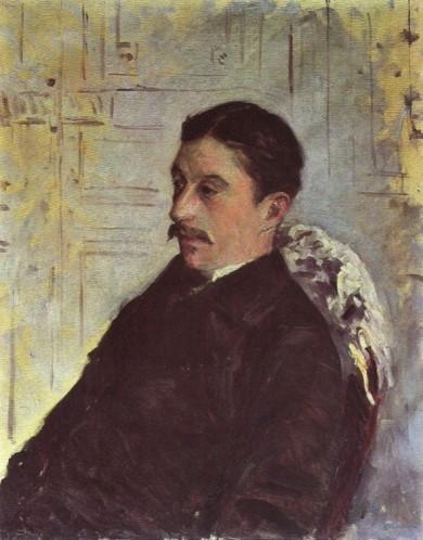 Gustave Caillebotte, 7IE-1882-6, Portrait de M. F. Compare: 1878-79ca, CR119+130, Portrait de Jules Froyez, 82x65, private (aR8;R102,no130;R101,no119;R2,p394)