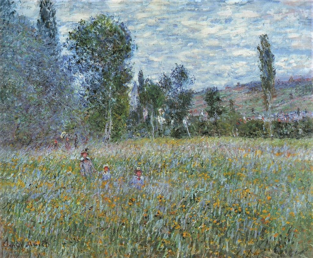 Claude Monet, 7IE-1882-86, Les coquelicots. Maybe: 1879, CR535, The Meadow, 79x98, JAM Omaha (iR10;i64;R22,no535;R2,p395) Probably: LVM-1880-5.