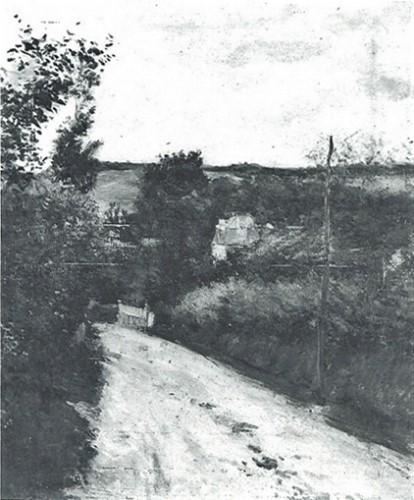 Gustave Caillebotte, 7IE-1882-9, Route d'Honfleur à Trouville =1881, CR174+190, Route de Honfleur à Trouville, 81x65, private (aR8;R101,no174;R102,no190+283;R2,p394;R90II,p201+216)