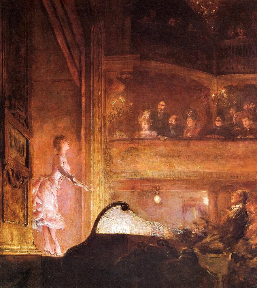 Jean-Louis Forain, 1895ca, The Singer in Pink, xx, private (iR2;iR6;iR10)