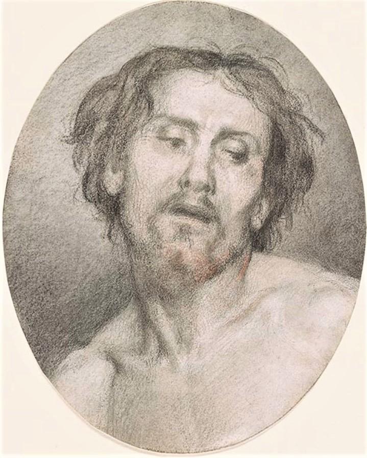 Edouard Brandon, 1IE-1874-30, Portrait de M. A.Z. (dessin) =? S1867-1657, Portrait de M. A. Z.; dessin. Compare: 18xx, Head of a model, as Christ, dr, 17x14, TMLM New York (iR10;M112;iR1;R2,p119)