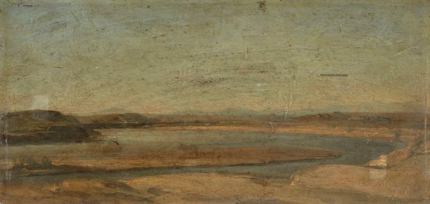 Edouard Brandon, 1IE-1874-31-2, Aquarelles. Maybe??: 1856-63 (18xx), Vue de l'acque Acetosa au nord de Rome, 15x31, A2018/02/13 (iR10;iR11;iR1;R2,p119). Maybe also: S1870-3144, Quinze aquarelles; même numéro: Souvenirs d'Italie. Compare: HD18971213-69, Campagne de Rome. (AquareIle)
