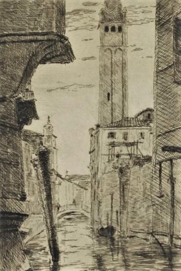 Henri Rouart, 1879 or 83ca, Canal at Venice, dr, xx, DAG Louvre (iR127;iR64;M5a). Compare: 8IE-1886-155, Palli, Venise (aquarelle).