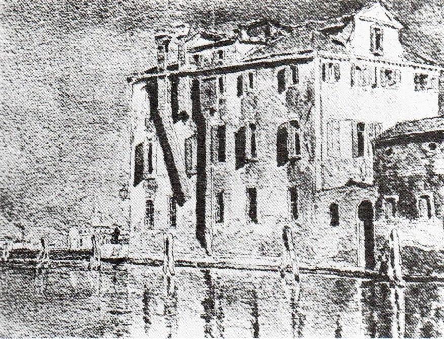 Henri Rouart, 1883, At Murano (Venice), wc, xx, private (R90II,p275). Probably: 8IE-1886-163, A Murano, Venise (aquarelle).