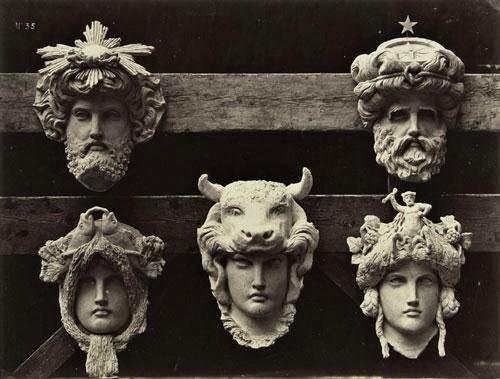 Edouard Brandon, SNBA-1892-163, Masques et visages. Maybe??: 18xx, Le Nouvel Opéra de Paris, sculpture, 21x27, A2001/10/02 (iR11;iR1)